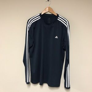 Adidas Navy Blue Pull Over